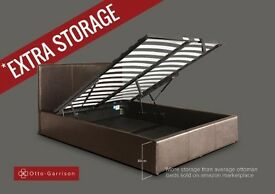 KING sized storage bed available for sale - £95