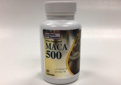 Maca  500mg - 60 Caps - capsulas,capsules, peruvian root, root sexual, energy