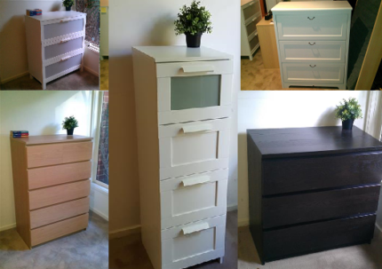 IKEA Chest of Drawers - Prices Vary - Delivered Across Melbourne