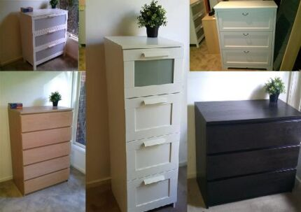 IKEA Chest of Drawers - Prices Vary, Delivery Available