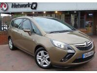 2014 Vauxhall Zafira Tourer 2.0 CDTi [165] Exclusiv 5 door Auto Diesel Estate