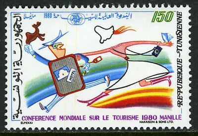 Tunisia 765, MNH. World Tourism Conference, Manila, 1980