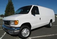RENT A CARGO VAN WITH A DRIVER, SMALL MOVES OR DELIVERIES
