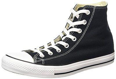 Converse Damen Chucks All Stars Hi High Top Sneakers Schuhe Gr. 38 Schwarz NEU