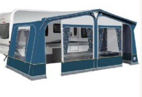 Caravan Awning- Dorema Size 12 Dark Blue | in Kilsyth ...