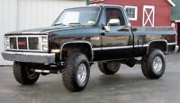 WANTED! 1987 and older gm pickup