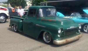 Wanted 55-59 chevy short box and frame only