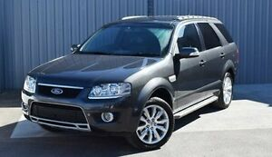 2009 Ford Territory Grey Sports Automatic Wagon Kings Meadows Launceston Area Preview