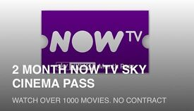 (Expires 1st may) 2 months Sky Cinema Pass