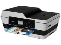 The Brother MFC-J6520DW All-in-One Inkjet wireless Printer, scanner, fax, copy machine A3
