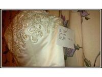 Only £350 designer wedding dress
