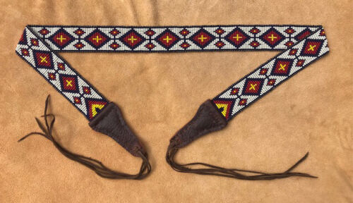 Native American Style Powder Horn or Bag Strap