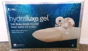 Hydraluxe Gel™ Dual-Sided Cooling Standard Pillow in White