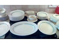 Wedgewood dinner service set. Over 60 pieces