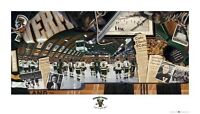 "Vermont Hockey ""Legends of the Gut"" Limited Terrence Fog Print"