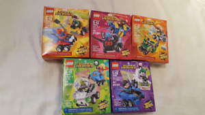 New Lego Super Heroes Mighty Micros