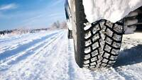 WINTER RIM AND TIRE SPECIAL - 195/55R16 $339 for a Set