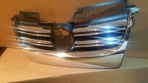 JETTA CHROME R32 LOOK GRILLE 2005 2006 2007 2008 2009 2010
