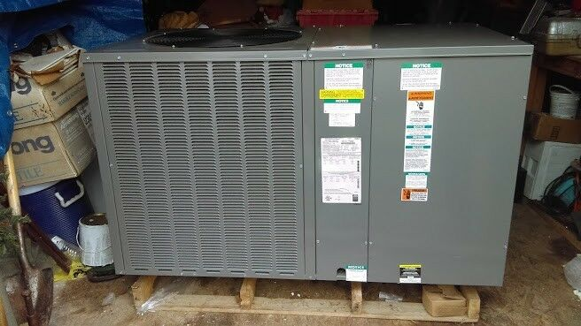 Rheem 4-ton package unit 3-Phase