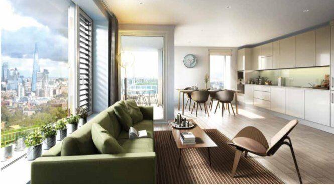 LUXURY BRAND NEW 1 BED SOUTH GARDEN MANSIONS ELEPHANT PARK SE1 CASTLE BOROUGH KENNINGTON LONDON