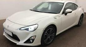 WHITE Toyota GT86 D4-S SPORTS FROM £77 PER WEEK!