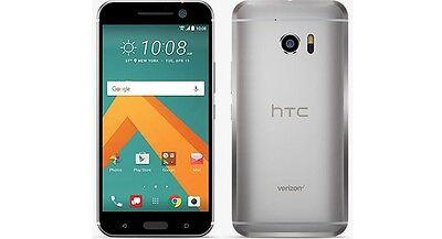 HTC 10 (Latest Model) - 32GB - Glacier Silver - Verizon - GSM Unlocked
