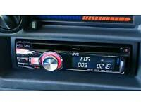JVC HEADUNIT CD MP3 USB AUX RADIO PLAYER STEREO COMPLETE 50X4 MINTER