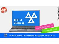 Get your laptop or PC fully serviced and running better than new - Prices from £25 - Repair & Help