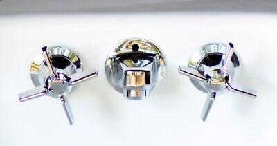 Chrome Kohler K-8040-3A-CP Shelf-Back Lavatory Faucet Triton - Chrome Triton Triton Shelf