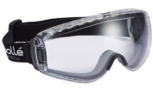 BOLPILOPSI-Bolle-Pilot-chiari-PC-policarbonato-Occhiali-sicurezza-Anti-Nebbia-Fog