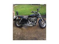 Harley Davidson 1200 XL Sportster Custom