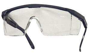 Sicherheits - Schutzbrille - Augenschutz Klarsicht Kratzfest TECTOR - EN166 NEU