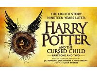 2X harry potter and the cursed child tickets Parts 1&2