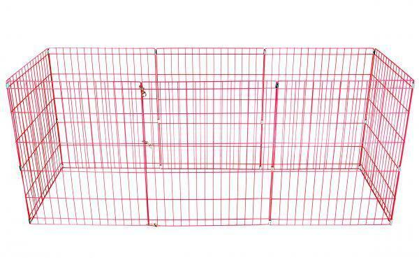 24 30 36 42 48 Tall Dog Playpen Crate Fence Pet Play Pen Exercise Cage -8 Panel Dog Supplies