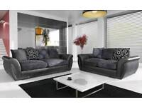 Brand new shannon 3+2 fabric sofas now on sale