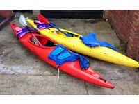 2 full kayak out fits