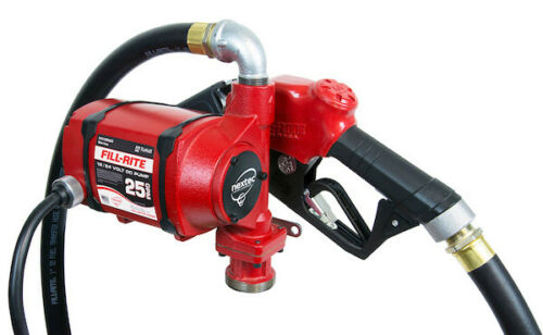 Tuthill Fill Rite NX3210B 12 V DC High Flow 25 GPM Fuel Transfer Pump Heavy Duty