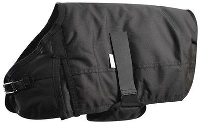 "XL BLACK Showman 600 Denier Waterproof Dog blanket 31""-34"" FREE SHIPPING"