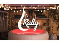 Rally Hot Tub Hire Teesside & Middlesbrough | Inflatable Hot Tub Hire from £23 a day
