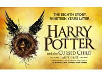 Harry Potter & the Cursed Child - 2 Tickets to Swap - For Parts 1 and 2 - Sat 17th September 2016