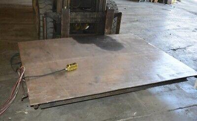 2000 Lb Southworth Backsaver Ls2-36 Hydraulic Scissor Lift Table - 28382