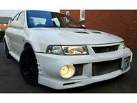MITSUBISHI EVO 6 UK RALLIART VERY RARE MODEL HPI CLEAR SERVICE HISTORY 4X4 AWD 4WD 300BHP