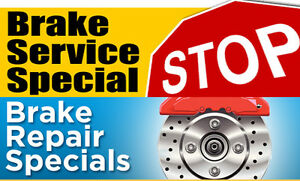 BRAKE REPAIR/REPLACEMENT SERVICE - SPECIAL - $299.99