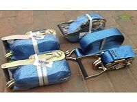 5 ton 10m ratchet staps LORRY STRAPS NEW L@@k