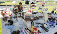 Vernon Collectors Club Huge Flea Market of Household to Antiques