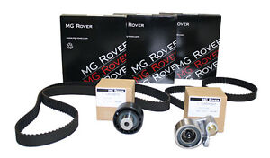 ROVER 75 MG ZS ZT TIMING BELT KIT 2.0 & 2.5 FREELANDER NEW AND GENUINE ZUA000610
