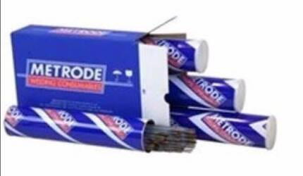 Quantity 76 / 5.3 Kilos Metrode Welding Electrodes Rods E9018-D1 Underwood Logan Area Preview