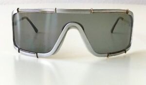 5a6a1c696e6 RARE silver shield Boeing Carrera 5708 1980s sunglasses  500.00