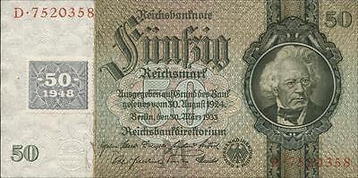 Ro.337a 50 Reichsmark 1948 Kuponausgabe (1)