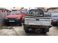 WANTED Toyota Hilux pickups. Cash waiting